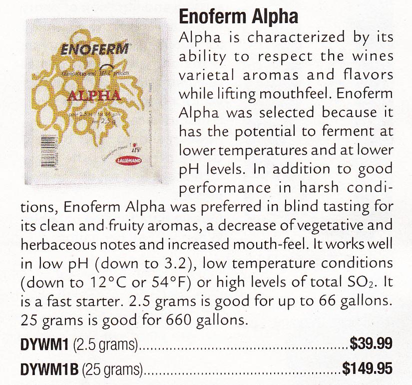 enoferm alpha